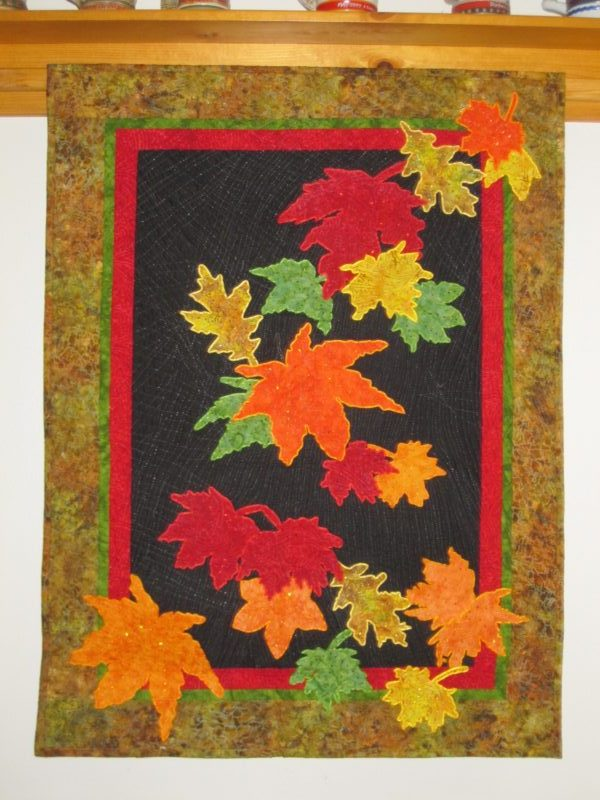 Falling Leaves Quilt 1