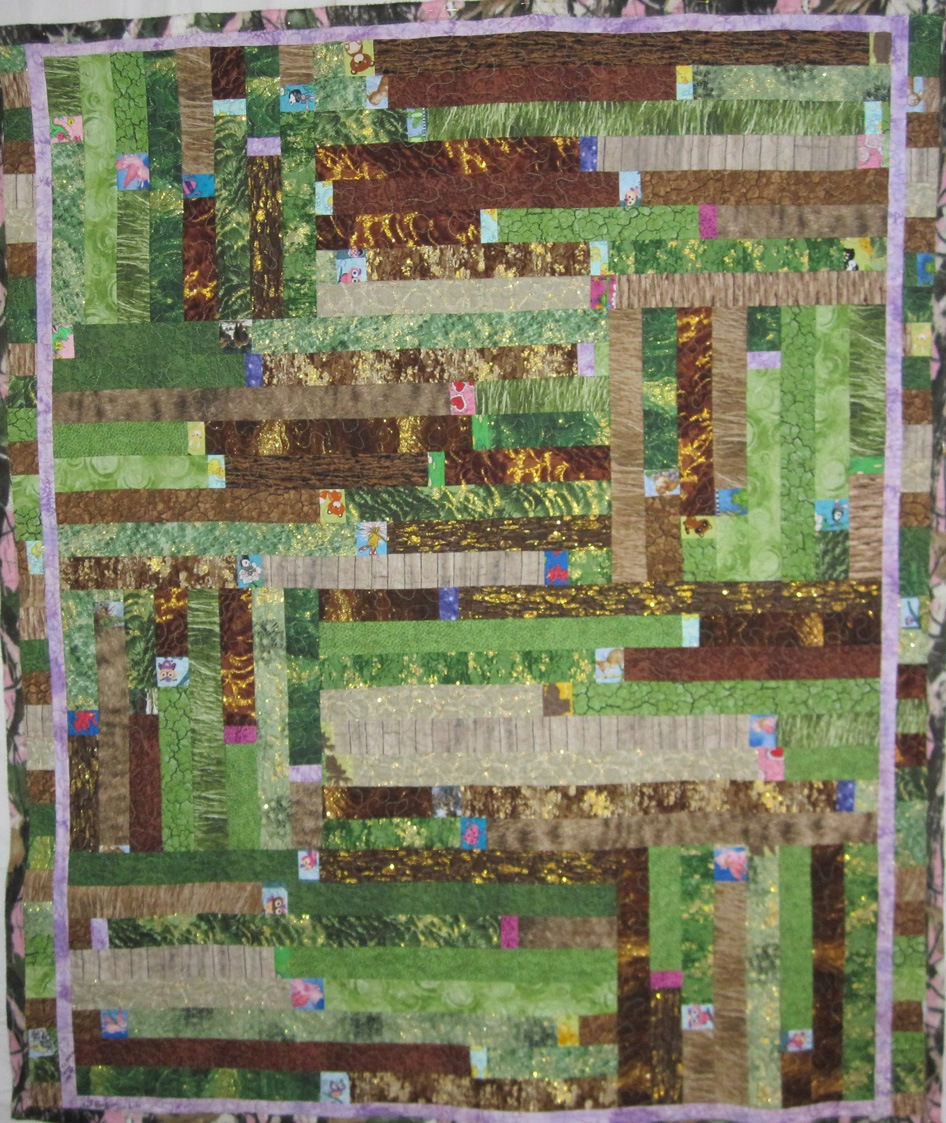 baby hunting quilt hand made