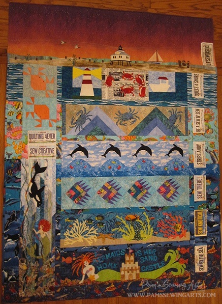 Maryland Row By Row Quilt Pams Sewing Arts