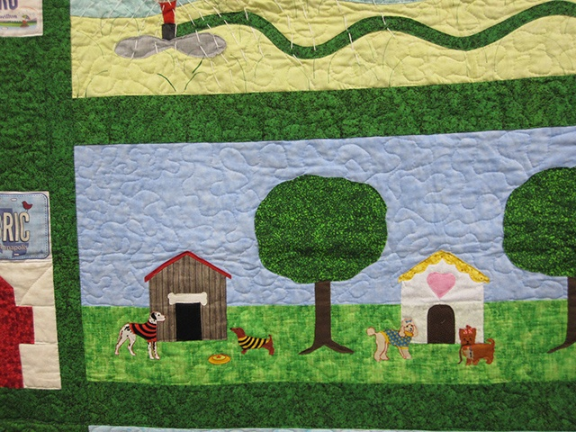 Row by Row Experience Quilting